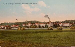 Northern Michigan Asylum Postcard