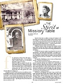 The Spirit of Mission Table