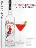 Valentine Vodka Wins Gold Medal