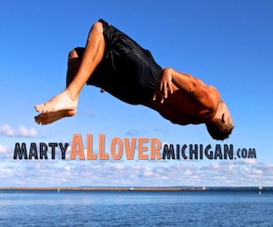 Marty All Over Michigan