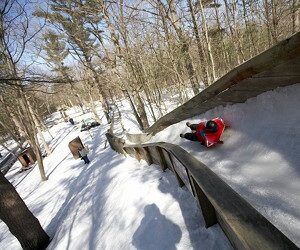 Muskegon Winter Sports Complex Luge