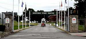 Fort Wayne Entrance