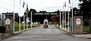 Fort Wayne Entrance