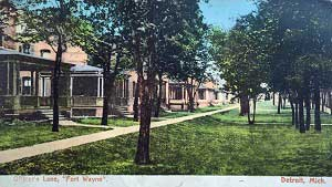 Fort Wayne Officers Lane