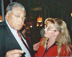 James Earl Jones and DIanna Stampfler