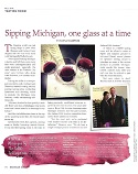 Sipping Michigan, One Glass at a Time
