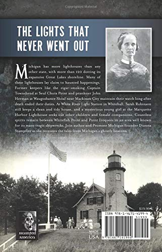 michigan's haunted lighthouse book cover back