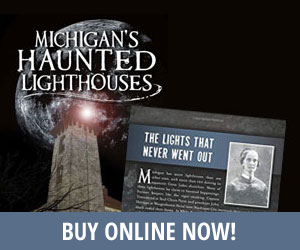 michigan's haunted lighthouses book by dianna stampfler