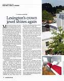 Lexington's Crown Jewel Shines Again